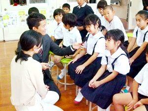 大和村立名音小学校でMBC出前授業開催