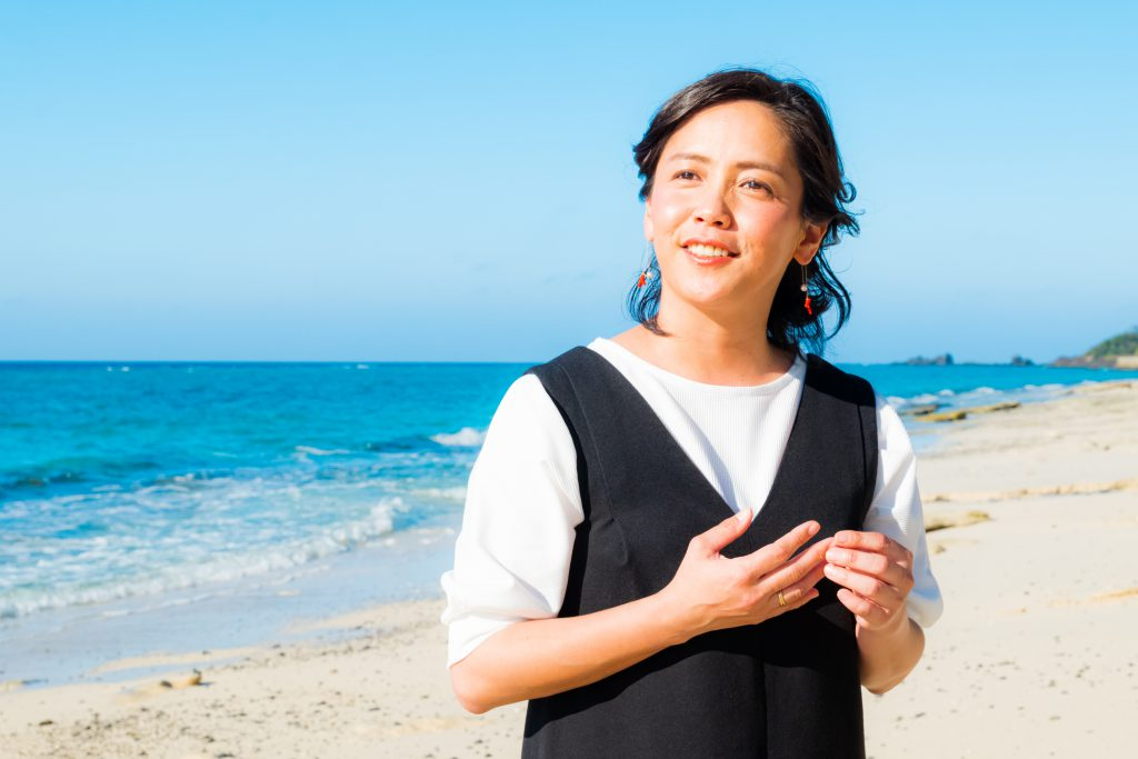 元ちとせさん「私の奄美大島・AMAMI」