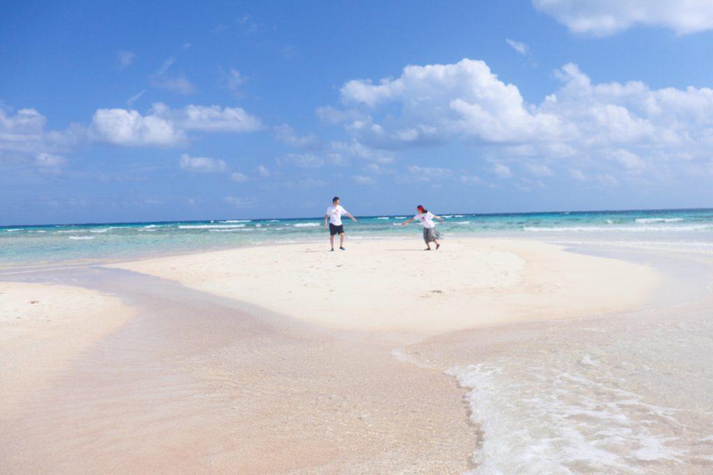 【与論島レポート】幻のビーチ・百合が浜の2020年出現スケジュールと楽しみ方を教えます!