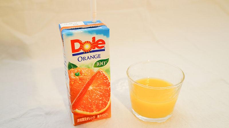 オレンジジュースやマンゴージュースと割って