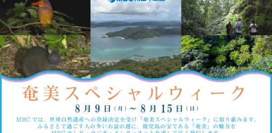 8月9日~8月15日『奄美スペシャルウィーク』開催!